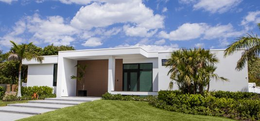 Palm Haus 3 Model: 2,500 Sq. Ft 3 Bedroom - Green Dwellings Exterior Front