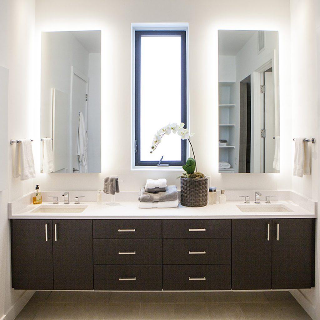 Palm Haus 3 Model: 2,500 Sq. Ft 3 Bedroom - Green Dwellings Interior Master Bathroom