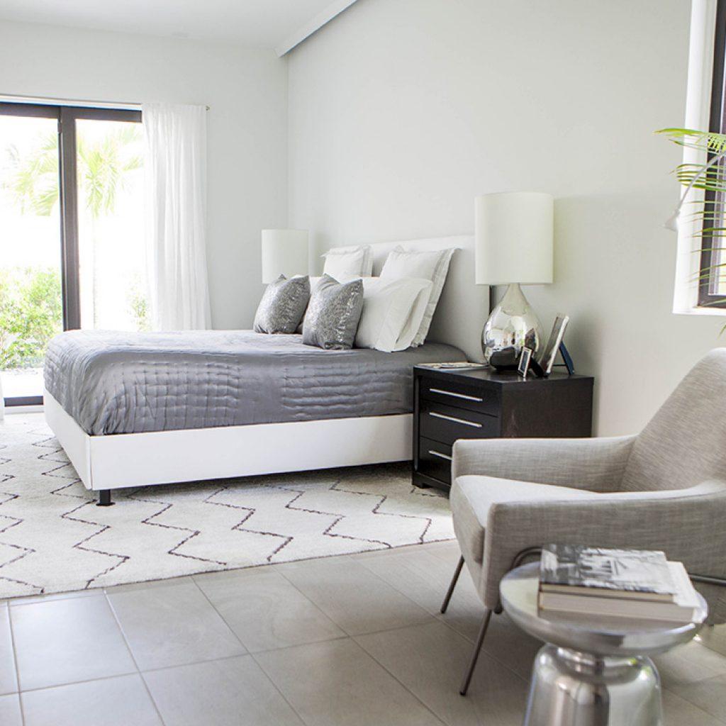 Palm Haus 3 Model: 2,500 Sq. Ft 3 Bedroom - Green Dwellings Interior Master Bedroom