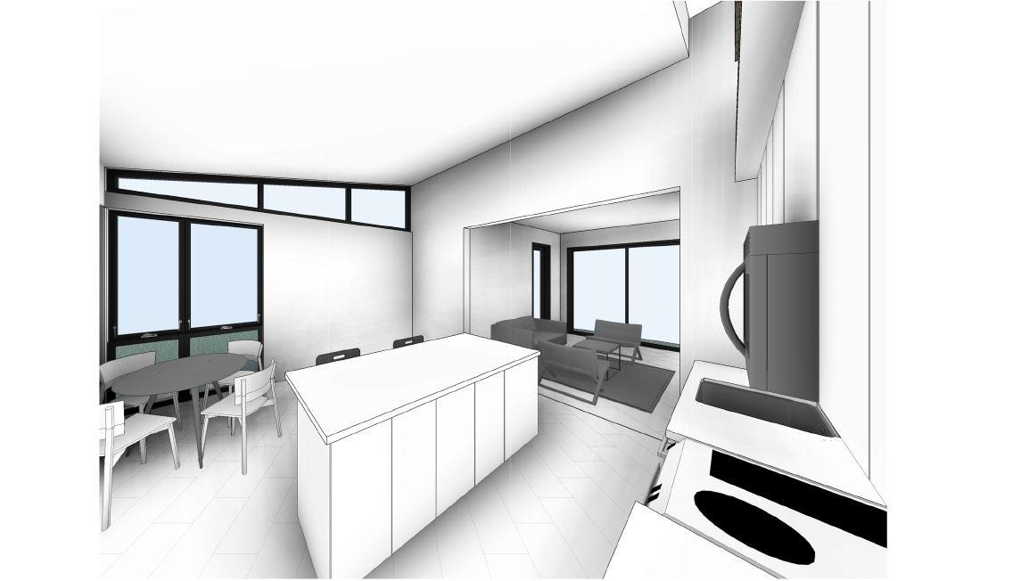 Breeze 2 Model: Interior Rendering