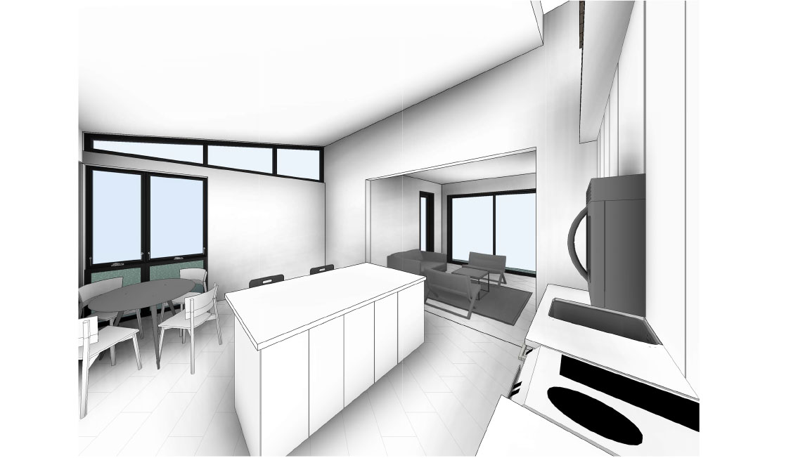 Breeze 2 Model: Interior Rendering